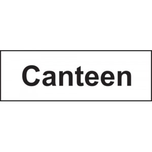 CANTEEN SIGN