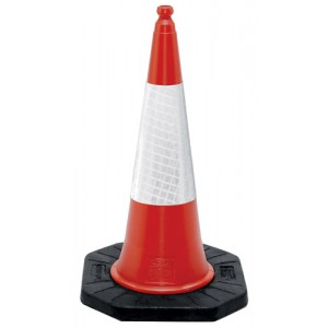Traffic Cone | 1000mm Two Piece