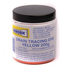 Drain Test Dye Green