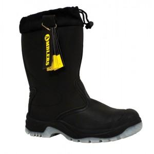Black Tie Top Rigger Boot