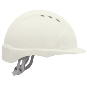 Safety Helmet White Standard Peak