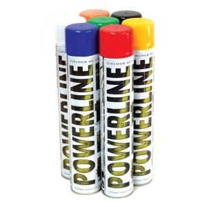 Linemarker Paint 750ml Aerosol Can - Black
