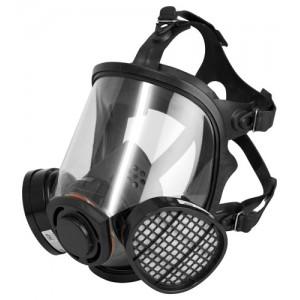 Twin Cartridge Full Face Mask Respirator