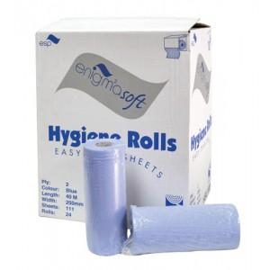 Paper Hand Towels Blue